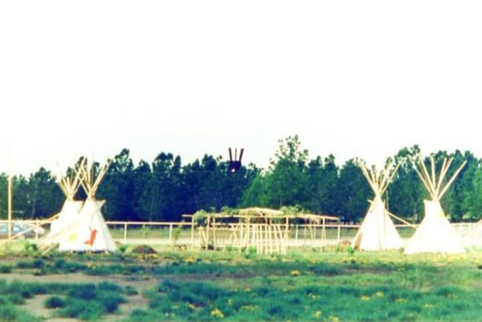 Teepee  Walter Wright Pioneer Village  Dawson Creek, BC