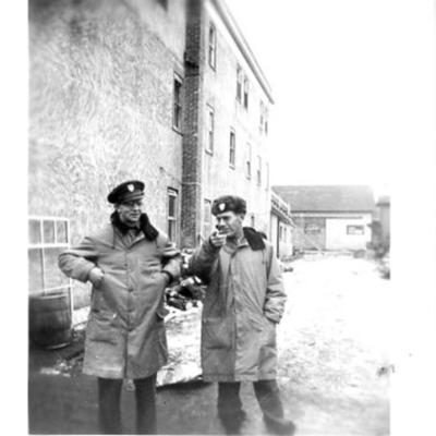 American Red Cross  Dawson Creek, BC 1943