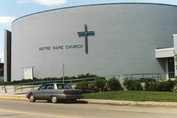 Notre Dame Church  Dawson Creek, BC 2003