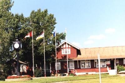 Visitor's Information Centre  Dawson Creek, BC 2003