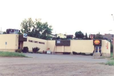 Frank's Carpet Warehouse 8th St. Dawson Creek, BC