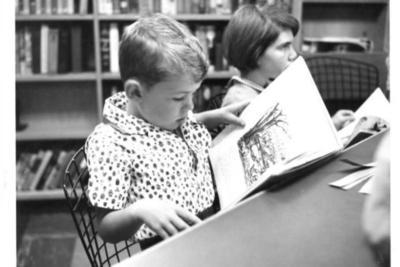 Mark Cunningham  Dawson Creek Library  1962
