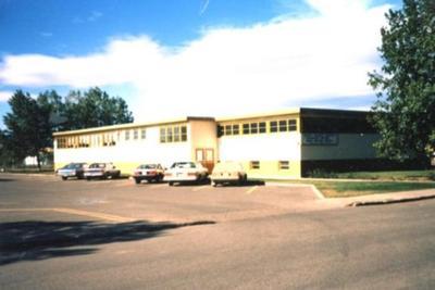 Library Service Branch  Dawson Creek, BC 1985