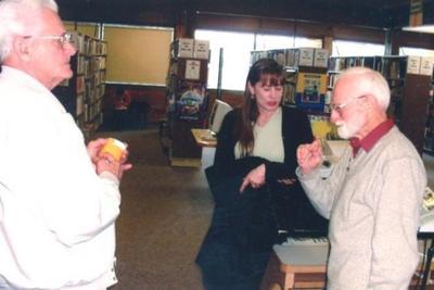 Ray Sutton, Meredith Thornton, Howard Overedn 2002