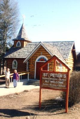 St. Peter's Church  Hudson Hope, BC 2002