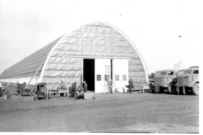 R. Melville Smith Garage Dawson Creek, BC 1942-43
