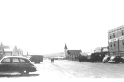 10th Street looking south  Dawson Creek, BC
