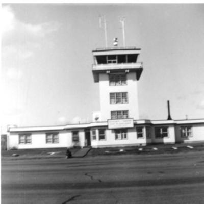 Fort St. John Airport  1955