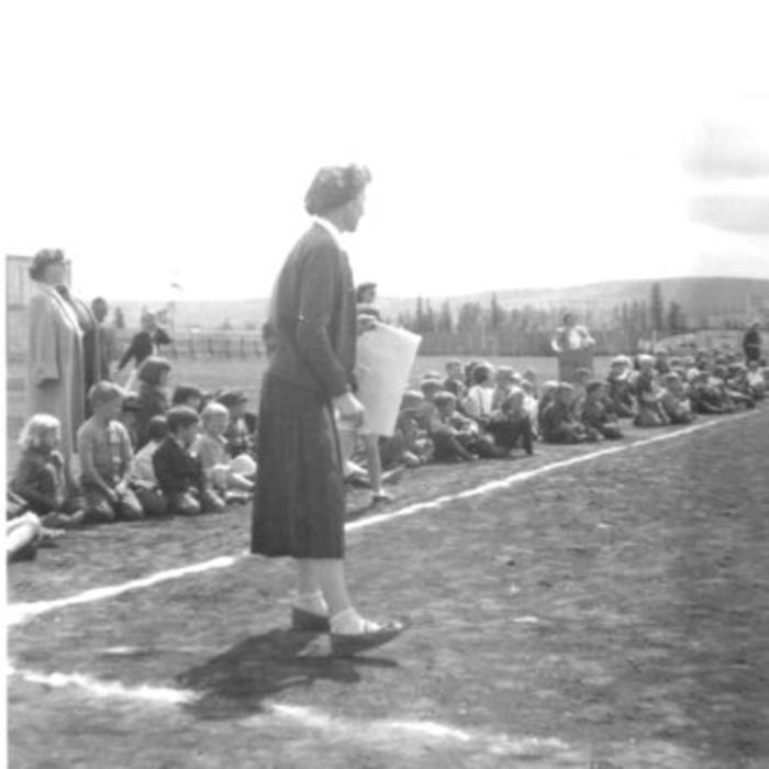 North Elementary School Sports Day June 1955