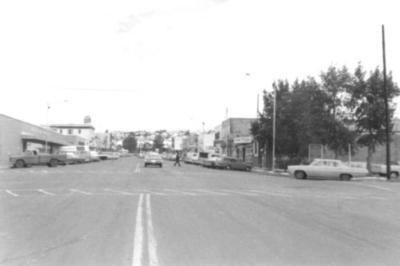 10th St at 103rd looking north Dawson Creek, BC 1958