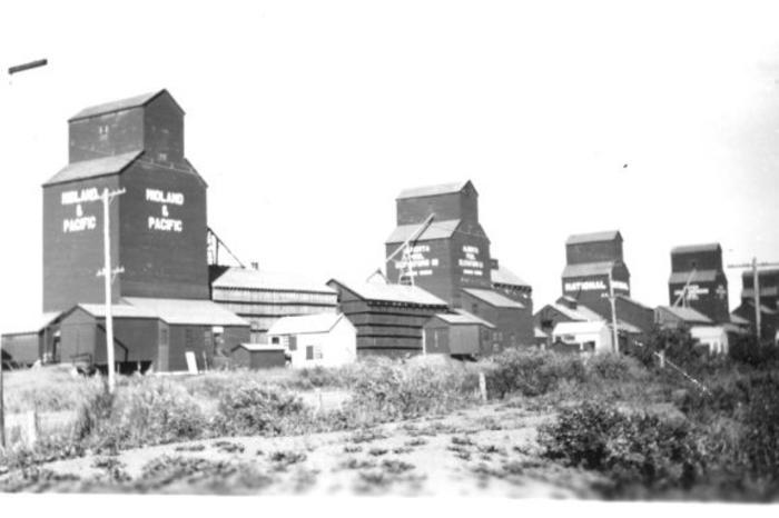Inland & Pacific, National Grain Dawson Creek, BC 1958