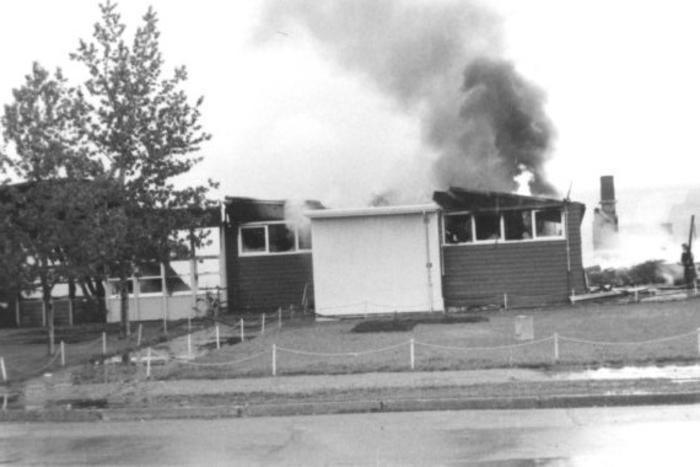 Dawson Creek, Elementary School Fire May 26, 1973