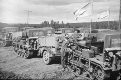 Alaska Highway Road Construction 1942