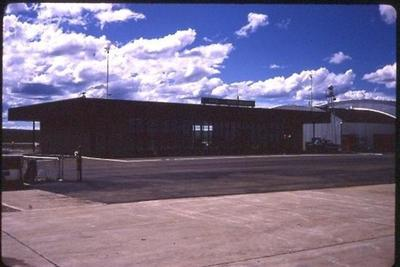 Dawson Creek Airport 1966