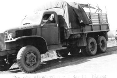 6X6 Truck Railhead Camp Dawson Creek, BC 1942-43
