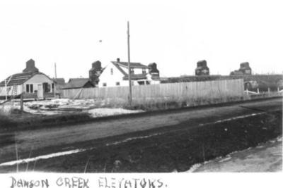 Grain Elevators Dawson Creek, BC 1942-43