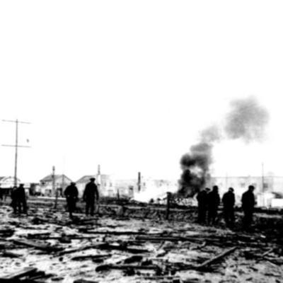Fire and Explosion Dawson Creek, BC Feb 1943