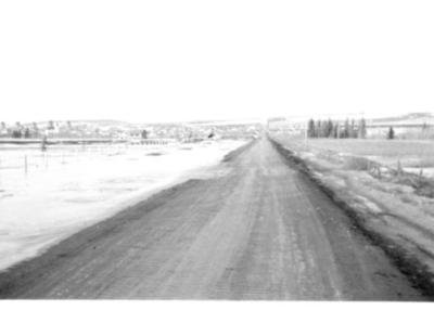 8th Street Flood Dawson Creek, BC 1942-43
