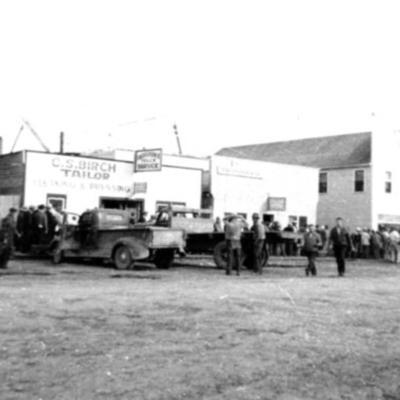 C.S. Birch Taylors, McQueen Transfer Dawson Creek, BC 1942-43