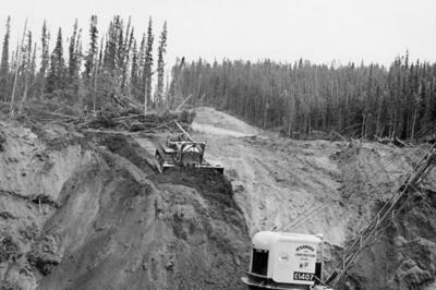 Alaskan Highway Caterpillar Diesel D8 Tractor Sept 1943
