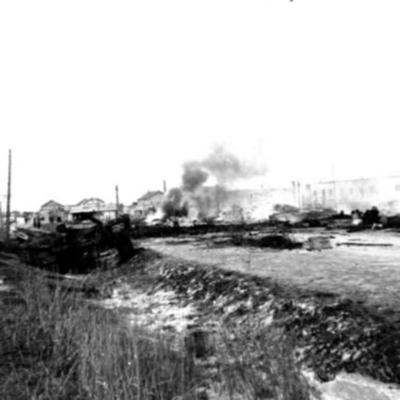 Fire and Explosion Dawson Creek, BC 1943