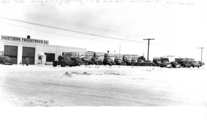 Northern Freightways Fleet 1950