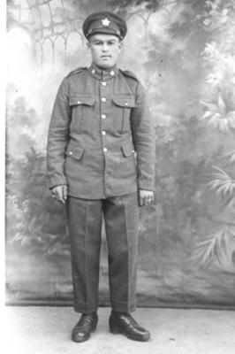 George Bremner Local Man who served in WWI 1918