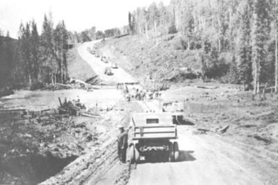 Bridge Repair Alaska Highway 1943