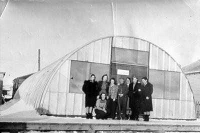 Post Office Dawson Creek, BC ca 1942