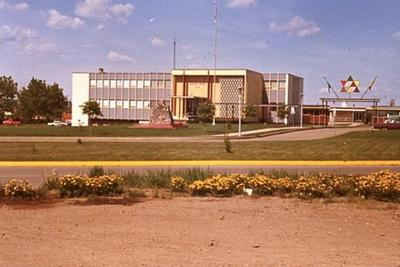 City Hall, Dawson Creek, BC 1967