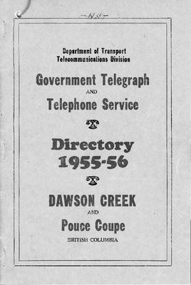 1955-56 Telephone Directory