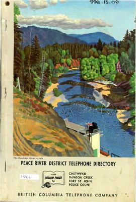 1961 Telephone & Directory