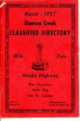 1957 Telephone Classified