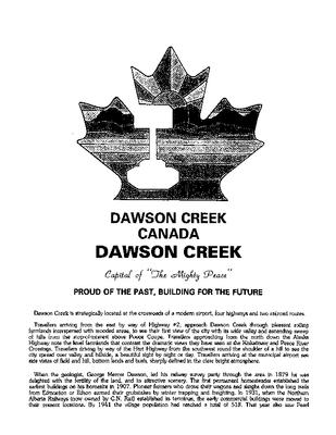 1997 Dawson Creek City Directory