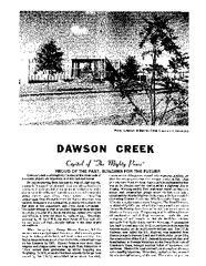 1981 Dawson Creek City Directory