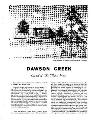 1980 Dawson Creek City Directory
