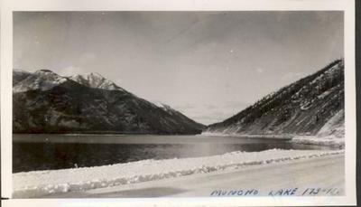 Mile 473 (173N) Muncho Lake, Alaska Highway, 1942-1943
