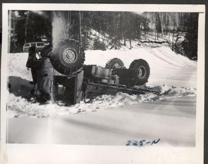 Mile 525 (225N) Alaska Highway, 1942-1943