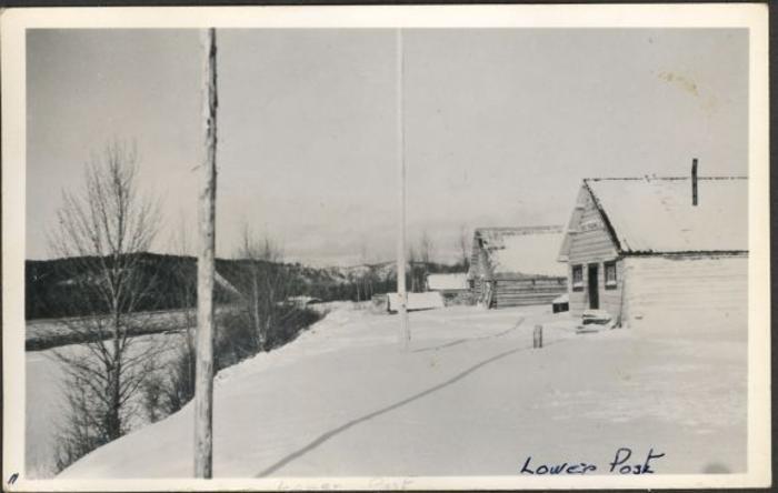 Mile 633 Lower Post, 1942-1943