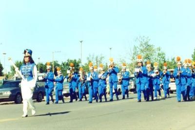 Fall Fair Parade, 1991, Dawson Creek, BC Kawanis Community Marching Band