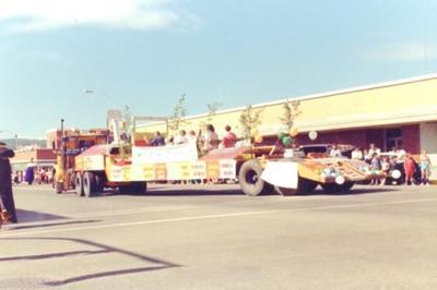 Fall Fair Parade, 1987, Dawson Creek, BC, City Centre