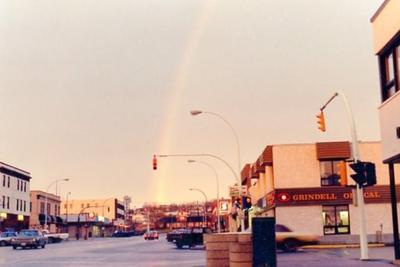 10th Street looking north, Dawson Creek, BC