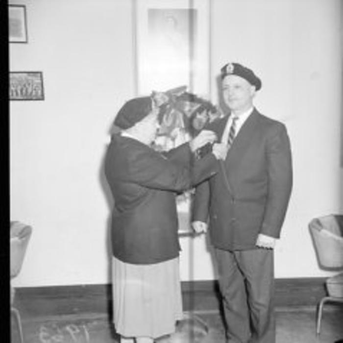 Royal Canadian Legion Branch # 141, Dawson Creek, BC, Ceremony in 1963