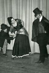3 unidentified cast members, unidentified theatrical production
