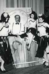 4 cast members in an unidentified theatrical production