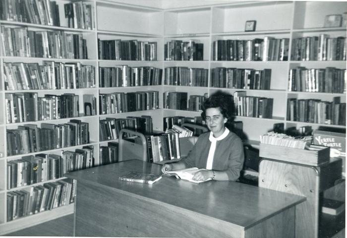 Bette Colyer, Yukon Regional Library, Whitehorse, Yukon, September 1963