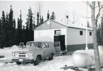 Peavine Lake School, December 1963