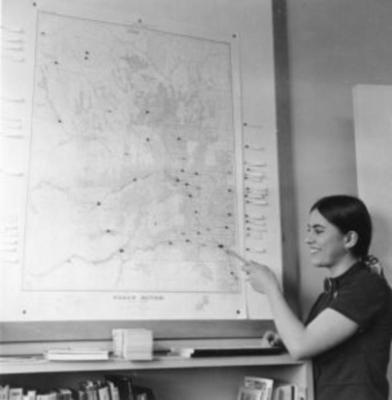 Linda Tenborg, Dawson Creek, B.C., July 1972