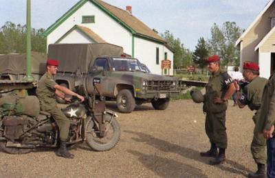 Dawson Creek, US Army Vehicles, Rendezvous '92, 1992