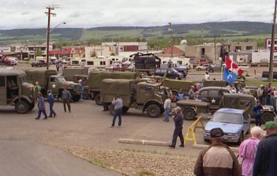 US Army Vehicles, Rendezvous 92, Pioneer Village, June 12, 1992